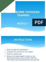 bloodborne pathogen training pdf