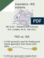 Inverse Kinematics Solutions_Lec_5
