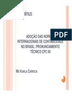 Pronunciamento Técnico CPC 00.pdf