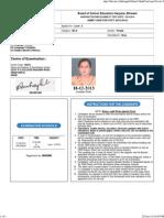 Admit Card Level-3