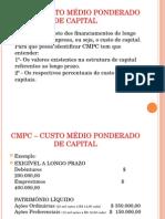 AULA6E7CMPC–CUSTOMEDIOPONDERADODECAPITAL