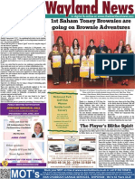 The Wayland News April 2015