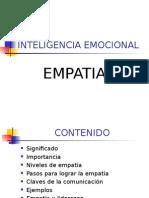 EMPATIA (INTELIGENCIA EMOCIONAL)