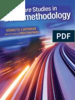 Kenneth Liberman, Harold Garfinkel More Studies in Ethnomethodology 2013