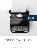 Artisan Files Laravel Free E-book