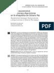 Barroco Excremental. COnjunciones y Disyunciones en La Ensayística de O. Paz