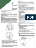 2GIG SMKT3‐345 Install Guide