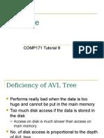 b+ tree insertion & deletion