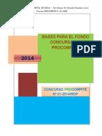 Bases Del Concurso-procompite-paras 2014