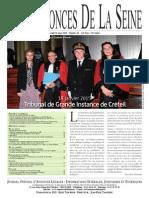 Edition Du Lundi 16 Mars 2015