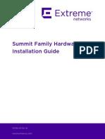 Summit Family HW Install