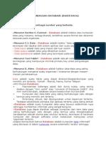 Perkembangan Database 2011 2013