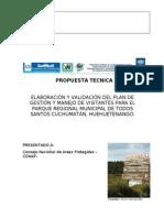 Propuesta Técnica para Consultorìa para PGMV Todos Santos (2)