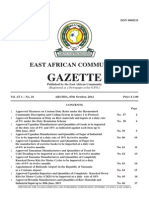 EAC Gazette 7 October 2014
