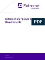 ExtremeXOS Feature License Requirements