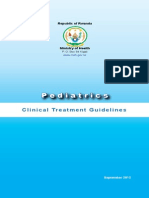 Pediatrics National Clinical Treatment Guideline Ok Version After Corrections