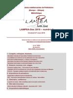LAMPEA-Doc 2015 – numéro 9 / Vendredi 27 mars 2015