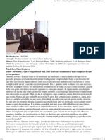 NÓVOA, Antônio - O Professor Pessquisador e Reflexivo - Entrevista Salto Para o Futuro