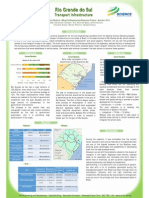 Poster de análise do transporte no estado do RS