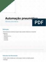 Automação Pneumática 03 - Válvulas Pneumáticas