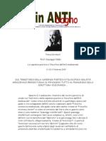 Anselmo e Gaunilone 2014 15 Lezione 16