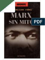 """RUBEL Maximilien """"Plan y Método de La Economía"""""""