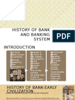 History of Bank and Banking System
