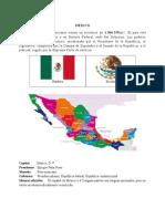 Ubicación de México
