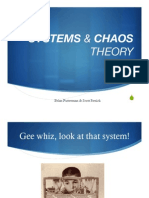 Chaos and Systems Theory