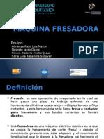 MÁQUINA FRESADORA