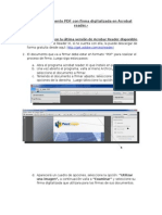 Firmar Documento PDF Con Firma Digitalizada en Acrobat Reader