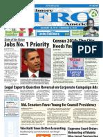 Baltimore Afro-American Newspaper, January 30, 2010