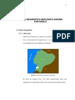 Área Geográfica y Marco Geológico Regional