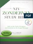 NIV Zondervan Study Bible Sampler