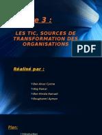 Chapitre 3 Les TIC Sources de Transformation Des Organisations (1)