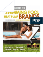 Buyers Guide to Swimming Pool Heat Pump Brands