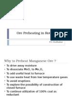 Ore Preheating