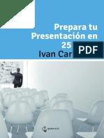 Cómo preparar una presentación