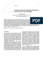 Applicability of International Financial Reporting Standard