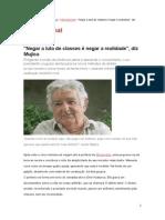 Entrevista_José Mujica_Presidente Do Uruguai