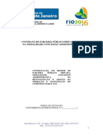 Contrato de Parceria Publico Privada Maracana