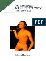 Los límites de la interpretación - Umberto Eco.pdf