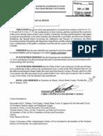 S.D. Fla. Admin Order 2010-05 -- Amendments to Local Rules