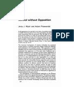 Wjatr; Adam Przeworski -- Control Without Opposition
