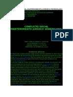 Conflicto Social Estudios Juridicos