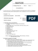 Syllabus BPA 111