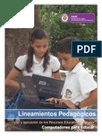 Lineamientos Para El Uso y Aplicacion de Los Recursos Educativos Digitales