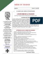 Bulletin Lumière du Thabor No 11, juin 2003.