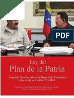 Ley Del Plan de La Patria 2013-2019