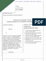 Anthony Brown Vs. LASD et al-complaint.pdf